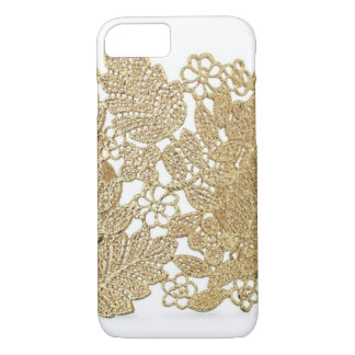 Cas de l'iPhone 7 de dentelle d'or d'Artandra Coque iPhone 7