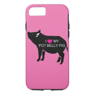 Cas de l'iPhone 7 de porc de ventre de pot Coque iPhone 7