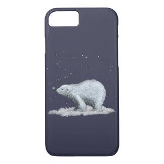Cas de l'iPhone 7 d'ours blanc Coque iPhone 7