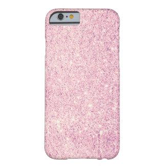 Cas de luxe de l'iPhone 6 de scintillement rose Coque iPhone 6 Barely There