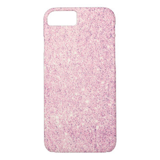 Cas de luxe de l'iPhone 7 de scintillement rose Coque iPhone 7