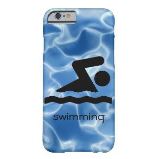 Cas de natation de téléphone de conception coque barely there iPhone 6