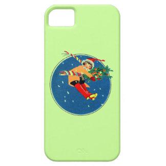Cas de Noël iPhone5 Coques iPhone 5 Case-Mate