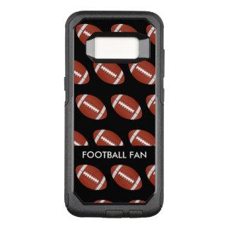 Cas de Smartphone de cool de passioné du football Coque Samsung Galaxy S8 Par OtterBox Commuter