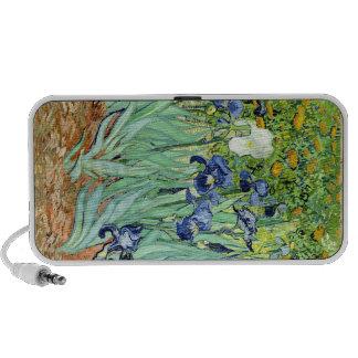 Cas de téléphone de détail d'iris de Van Gogh Haut-parleurs iPod