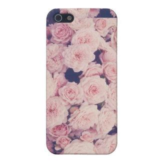 cas de téléphone de fleur de hippie iPhone 5 case