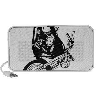 Cas de téléphone de moto haut-parleur de voyage