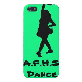 Cas de téléphone d'équipe de danse coque iPhone 5