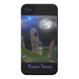 Cas de téléphone d'île de Pâques et sacs Coque iPhone 4