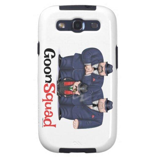 Cas de vibe de la galaxie S3 de Samsung de peloton Coques Galaxy S3