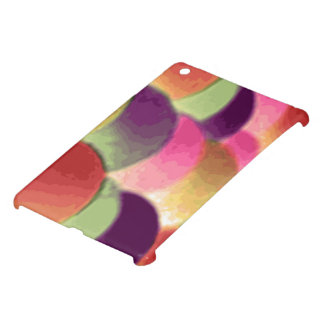 Cas d'iPad d'art d'arc-en-ciel mini par Janz Coques Pour iPad Mini