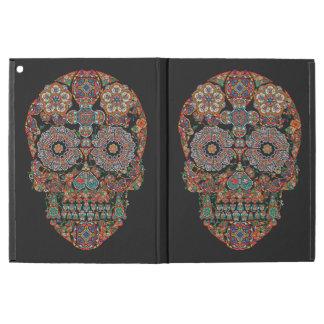 "Cas d'iPad de crâne de sucre de fleur pro iPad Pro 12.9"" Case"