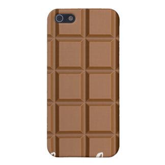 Cas d'Iphone 4 de barre de chocolat Étuis iPhone 5