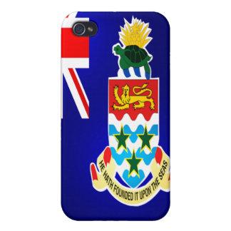 Cas d'Iphone 4 de drapeau de l'Île Caïman Coque iPhone 4 Et 4S
