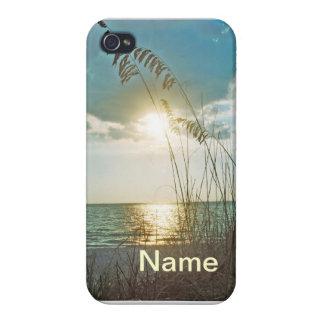 Cas d'Iphone 4 de rivage d'île de trésor Coque iPhone 4/4S