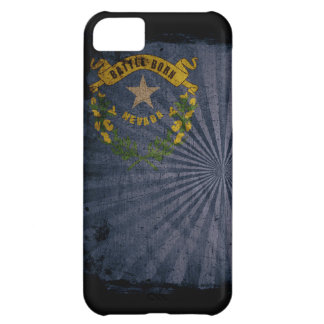 Cas d'Iphone 5 avec le drapeau d'état du Nevada Coque iPhone 5C