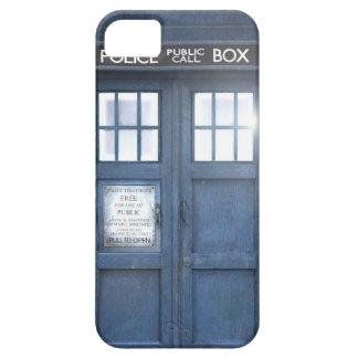 Cas drôle de l'iPhone 5 de cabine téléphonique Coques iPhone 5 Case-Mate