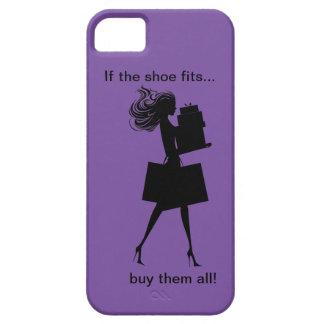 Cas drôle de l'iPhone 5 de dames Coque Barely There iPhone 5