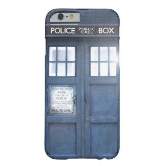 Cas drôle de l'iPhone 6 de cabine téléphonique Coque iPhone 6 Barely There