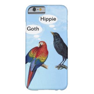 Cas drôle hippie de l'iPhone 6 de Goth