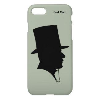 Cas du meilleur iPhone7 d'homme, de Groomsman, ou Coque iPhone 7