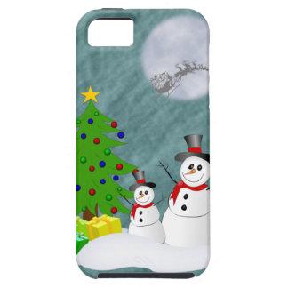 Cas dur de l'iPhone 5 de bonhommes de neige Coque iPhone 5