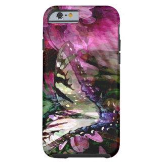 Cas et cadeaux de téléphone de jardin de papillon coque tough iPhone 6