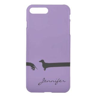 Cas extra-long du teckel iPhone7 Coque iPhone 7 Plus