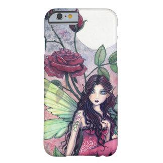 Cas féerique de l'iPhone 6 d'art d'imaginaire rose Coque iPhone 6 Barely There