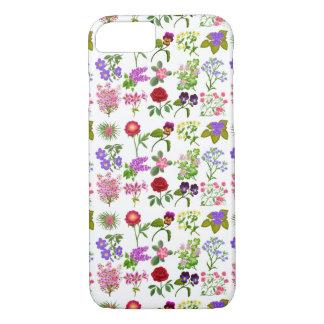 Cas floral anglais de l'iPhone 7 de jardin Coque iPhone 7