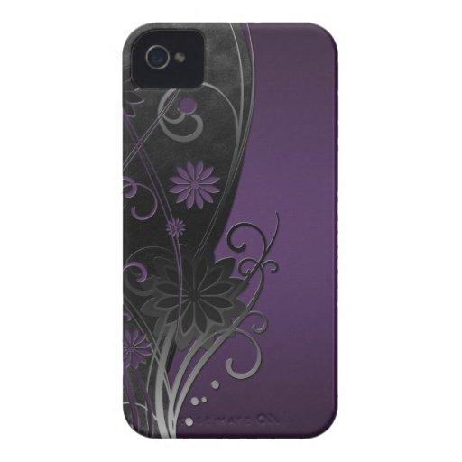 Cas floral de compagnon de cas de l'iPhone 4/4S Étui iPhone 4