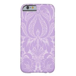 Cas floral de l'iPhone 6 d'imaginaire violet Coque iPhone 6 Barely There