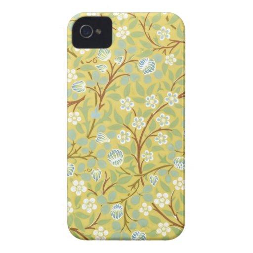 Cas floral vintage d'Iphone 4/4S Coque iPhone 4 Case-Mate