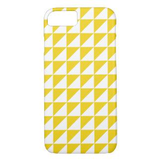Cas géométrique jaune citron moderne de l'iPhone 6 Coque iPhone 7