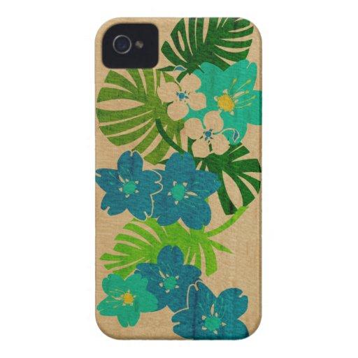 Cas hawaïen de l'iPhone 4 de planche de surf de ja Coque iPhone 4 Case-Mate