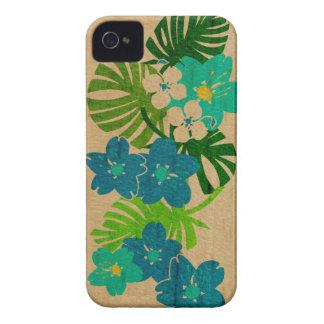 Cas hawaïen de l'iPhone 4 de planche de surf de ja Coque Case-Mate iPhone 4