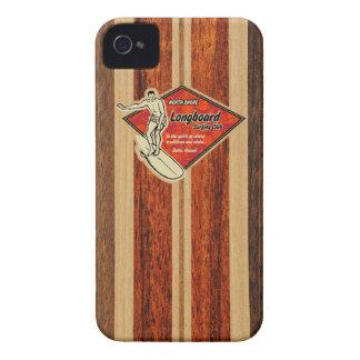 Cas hawaïen de l'iPhone 4 de planche de surf de Wa Étuis iPhone 4