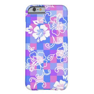 Cas hawaïen de l'iPhone 6 de ketmie de damier Coque iPhone 6 Barely There