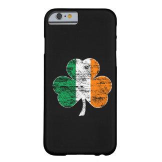 Cas irlandais de l'iPhone 6 de shamrock de drapeau Coque Barely There iPhone 6