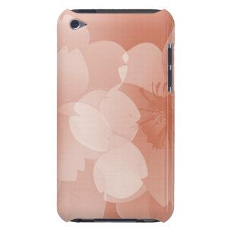Cas jumeau de contact de Fleur iPod Coque Case-Mate iPod Touch