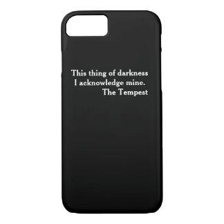 Cas littéraire intelligent de téléphone de coque iPhone 7