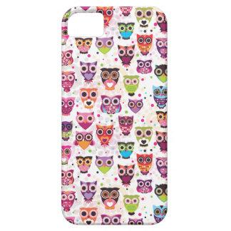 Cas mignon de l'iphone 5 de hibou coques iPhone 5 Case-Mate