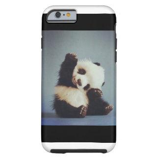 Cas mignon de l'iPhone 6 de panda de bébé Coque iPhone 6 Tough