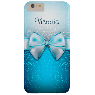Cas plus de l'iPhone 6 bleus Girly de vacances de Coque Barely There iPhone 6 Plus