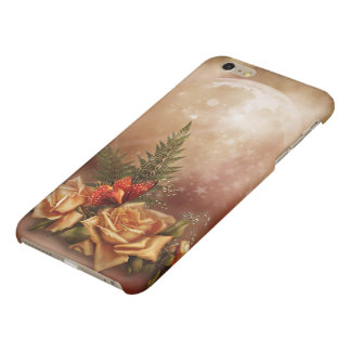 Cas plus de l'iPhone 6 brillants roses romantiques