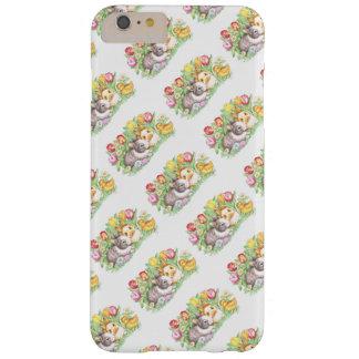 Cas plus de l'iPhone 6 de lapin de Pâques de Coque Barely There iPhone 6 Plus