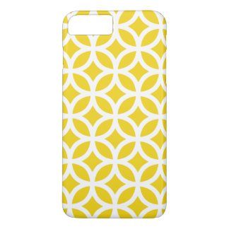 cas plus de l'iPhone 6 - géométrique jaune citron Coque iPhone 7 Plus