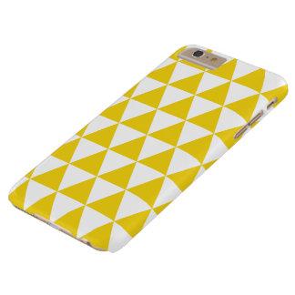 Cas plus de l'iPhone 6 jaune citron de motif de Coque iPhone 6 Plus Barely There