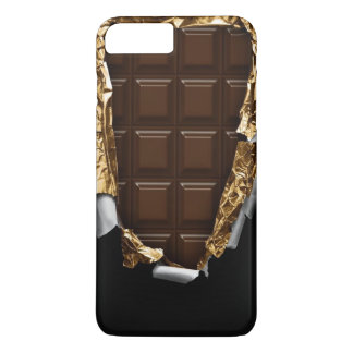 "CAS PLUS de l'iPhone 7 ""de barre de chocolat"" Coque iPhone 7 Plus"