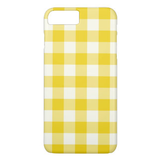 Cas plus de l'iPhone 7 jaune citron de guingan Coque iPhone 7 Plus